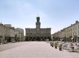 Casalmaggiore - Image: Casalmaggiore piazza Garibaldi