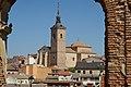 Casarrubios del Monte, Iglesia de Santa María, siglo XVI, desde ruinas iglesia de San Andrés.jpg