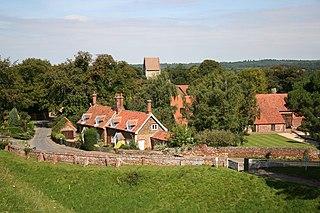 Castle Rising village and parish in Norfolk