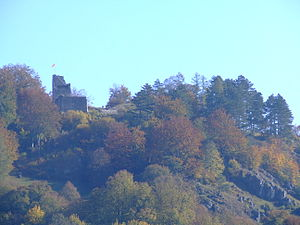 Velburg - Image: Castle ruin