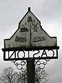 Caston - the other side of the village sign - geograph.org.uk - 702100.jpg