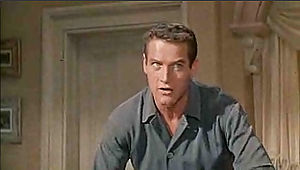 Screenshot of Paul Newman from the trailer for...