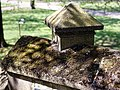 Catacomb columbarium City of London Cemetery, parapet coping stone 1.jpg