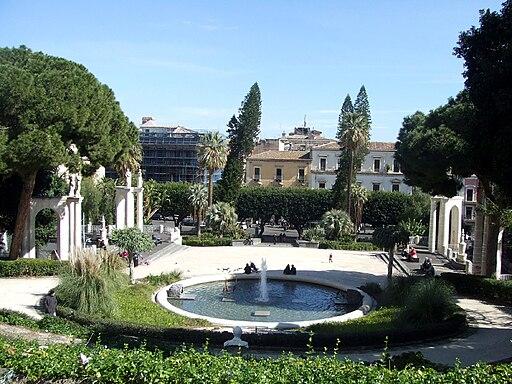 Catania park - Villa Bellini