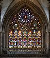 Cathédrale de Bayeux - verrière Nord du transept.jpg