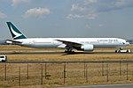 Cathay Pacific, B-KPL, Boeing 777-367 ER (29447145797).jpg