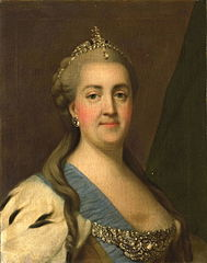Portrait de Catherine II (1729-96), impératrice de Russie
