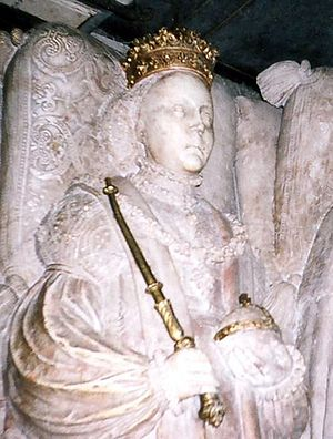 Catherine of Saxe-Lauenburg - Catherine as depicted on her tomb
