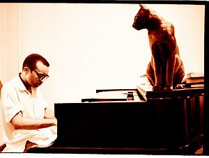 Cecil Taylor - Taylor playing in his apartment in New York City in 1972
