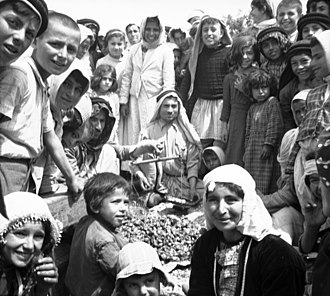 Alawites - Alawites celebrating at a festival in Baniyas, Syria during World War II.