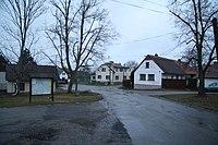 Center of Psáře, Benešov District.jpg