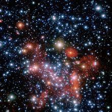 Un'immagine delle stelle situate nel centro galattico. ESO