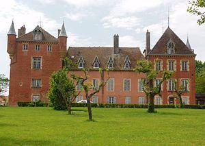 Athée, Côte-d'Or - The Château of Athée