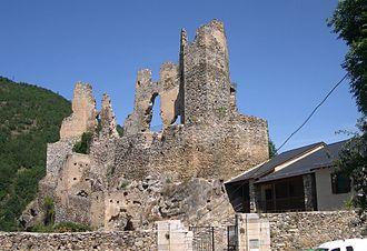 Mijanès - Château d'Usson
