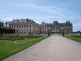 Château de Lunéville castle