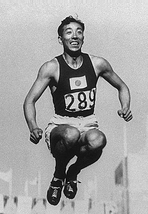 Chūhei Nambu - Chūhei Nambu at the 1932 Olympics