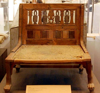 Ramose and Hatnofer - Chair from Ramose and Hatnofer's tomb