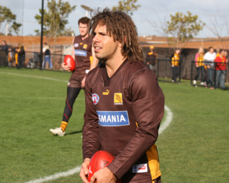 Chance Bateman - Bateman with Hawthorn in 2007