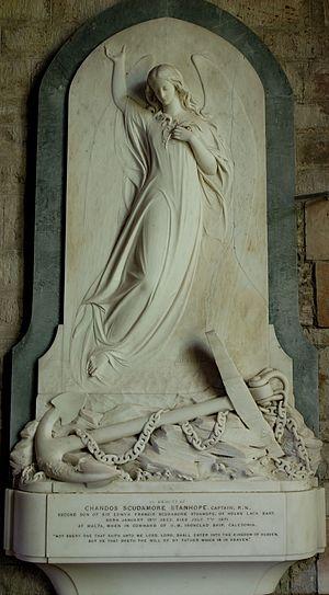 Chandos Scudamore Scudamore Stanhope - Chandos S. Stanhope memorial