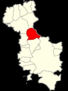 Chapeltique ciudad barrios moncagua Itinéraire Ciudad