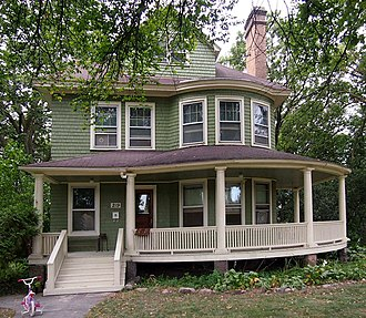 National Register of Historic Places listings in Chippewa County, Minnesota - Image: Charles H. Budd House
