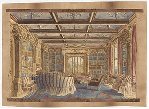 Private library - The Library at Dingestow by Charlotte Bosanquet