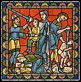 Chartres VITRAIL DE LA VIE DE JÉSUS-CHRIST Motiv 15 Suite du même sujet.jpg