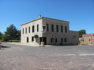 National Register of Historic Places listings in Chase County, Kansas - Image: Chase County National Bank