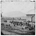 Chattanooga, Tennessee. Confederate prisoners at railroad depot LOC cwpb.02115.jpg