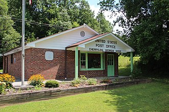 Cherry Log, Georgia - Cherry Log post office