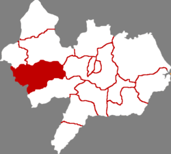 Xian County in Cangzhou