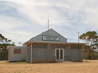 Chinkapook Town in Victoria, Australia