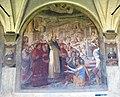 Chiostro grande di smn, lato ovest 14 alessandro fei, s. domenico resuscita il nipote del cardinale orsini, 1581-84.JPG