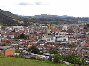 Chiquinquirá - View of Chiquinquirá