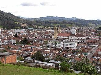 Chiquinquirá - View of Chiquinquirá