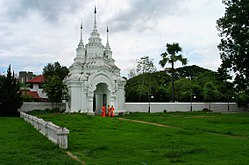 Entrance gate, Wat Suan Dok