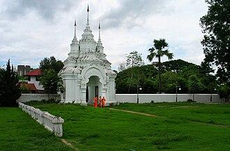 Wat Suan Dok - Image: Chmaiwsuandok 050611c