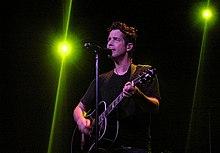 Chris Cornell in concerto ad Amsterdam nel 2007