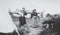 Christina Gordon (right), an early settler at Fort McMurray.png