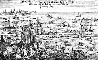 Christmas flood of 1717