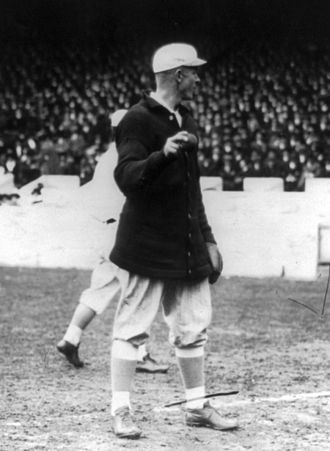 Christy Mathewson - Mathewson with the New York Giants, c. 1913