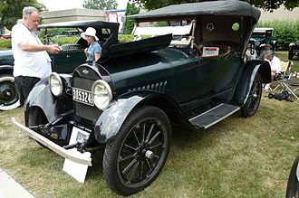 Chevrolet Series D - Image: Chummy Roadster 1