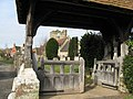 Church gate and porch - geograph.org.uk - 1172187.jpg