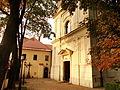 Church of Agnes of Rome in Kraków, 2012.JPG