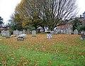 Churchyard, All Saints Church, Whiteparish - geograph.org.uk - 1053311.jpg