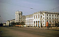 Chuvash Agricultural Institute on Lenin Square in Cheboksary, 1987.jpg
