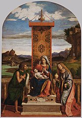 Madonna and Child with John the Baptist and Mary Magdalene