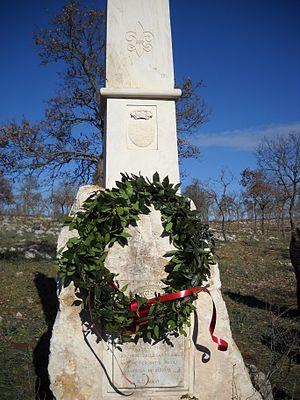 Gioia del Colle - Monument to Sergeant Romano.