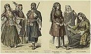 Circassians, Tatars, Turkic people, Zaurnåa