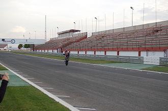 Circuito de Albacete - Main stands.